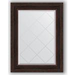 Купить Зеркало с гравировкой Evoform Exclusive-G 69x91 см, в багетной раме - темный прованс 99 мм (BY 4119)