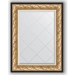 Купить Зеркало с гравировкой Evoform Exclusive-G 70x92 см, в багетной раме - барокко золото 106 мм (BY 4122)