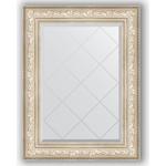 Купить Зеркало с гравировкой Evoform Exclusive-G 70x93 см, в багетной раме - виньетка серебро 109 мм (BY 4125)