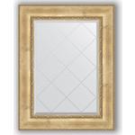 Купить Зеркало с гравировкой Evoform Exclusive-G 72x95 см, в багетной раме - состаренное серебро с орнаментом 120 мм (BY 4127)