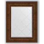 Купить Зеркало с гравировкой Evoform Exclusive-G 72x95 см, в багетной раме - состаренная бронза с орнаментом 120 мм (BY 4128)