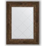 Купить Зеркало с гравировкой Evoform Exclusive-G 72x95 см, в багетной раме - состаренное дерево с орнаментом 120 мм (BY 4129)