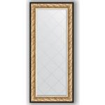 Купить Зеркало с гравировкой Evoform Exclusive-G 70x160 см, в багетной раме - барокко золото 106 мм (BY 4165)