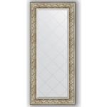 Купить Зеркало с гравировкой Evoform Exclusive-G 70x160 см, в багетной раме - барокко серебро 106 мм (BY 4166)