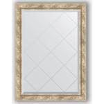 Купить Зеркало с гравировкой Evoform Exclusive-G 73x101 см, в багетной раме - прованс с плетением 70 мм (BY 4177)