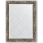 Купить Зеркало с гравировкой Evoform Exclusive-G 73x101 см, в багетной раме - старое дерево с плетением 70 мм (BY 4178)