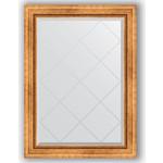 Купить Зеркало с гравировкой Evoform Exclusive-G 76x104 см, в багетной раме - римское золото 88 мм (BY 4189)