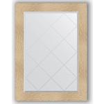 Купить Зеркало с гравировкой Evoform Exclusive-G 76x104 см, в багетной раме - золотые дюны 90 мм (BY 4193)
