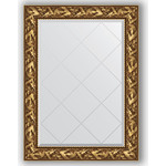 Купить Зеркало с гравировкой Evoform Exclusive-G 79x106 см, в багетной раме - византия золото 99 мм (BY 4199)