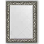 Купить Зеркало с гравировкой Evoform Exclusive-G 79x106 см, в багетной раме - византия серебро 99 мм (BY 4200)