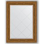 Купить Зеркало с гравировкой Evoform Exclusive-G 79x106 см, в багетной раме - травленая бронза 99 мм (BY 4204)