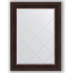 Купить Зеркало с гравировкой Evoform Exclusive-G 79x106 см, в багетной раме - темный прованс 99 мм (BY 4205)