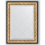 Купить Зеркало с гравировкой Evoform Exclusive-G 80x107 см, в багетной раме - барокко золото 106 мм (BY 4208)