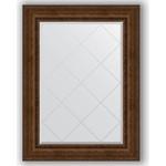 Купить Зеркало с гравировкой Evoform Exclusive-G 82x110 см, в багетной раме - состаренная бронза с орнаментом 120 мм (BY 4214)