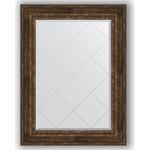 Купить Зеркало с гравировкой Evoform Exclusive-G 82x110 см, в багетной раме - состаренное дерево с орнаментом 120 мм (BY 4215)