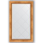 Купить Зеркало с гравировкой Evoform Exclusive-G 76x131 см, в багетной раме - римское золото 88 мм (BY 4232)
