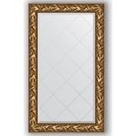 Купить Зеркало с гравировкой Evoform Exclusive-G 79x133 см, в багетной раме - византия золото 99 мм (BY 4242)