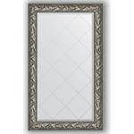 Купить Зеркало с гравировкой Evoform Exclusive-G 79x133 см, в багетной раме - византия серебро 99 мм (BY 4243)