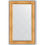 Купить Зеркало с гравировкой Evoform Exclusive-G 79x134 см, в багетной раме - травленое золото 99 мм (BY 4245)