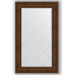 Купить Зеркало с гравировкой Evoform Exclusive-G 82x137 см, в багетной раме - состаренная бронза с орнаментом 120 мм (BY 4257)