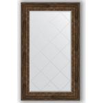 Купить Зеркало с гравировкой Evoform Exclusive-G 82x137 см, в багетной раме - состаренное дерево с орнаментом 120 мм (BY 4258)