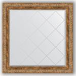 Купить Зеркало с гравировкой Evoform Exclusive-G 85x85 см, в багетной раме - виньетка античная бронза 85 мм (BY 4316)