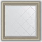 Купить Зеркало с гравировкой Evoform Exclusive-G 86x86 см, в багетной раме - хамелеон 88 мм (BY 4321)