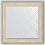 Купить Зеркало с гравировкой Evoform Exclusive-G 88x88 см, в багетной раме - травленое серебро 95 мм (BY 4327)