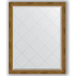 Купить Зеркало с гравировкой Evoform Exclusive-G 93x118 см, в багетной раме - состаренная бронза с плетением 70 мм (BY 4348)