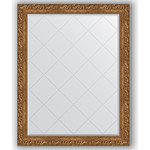 Купить Зеркало с гравировкой Evoform Exclusive-G 95x120 см, в багетной раме - виньетка бронзовая 85 мм (BY 4357)