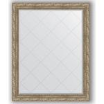 Купить Зеркало с гравировкой Evoform Exclusive-G 95x120 см, в багетной раме - виньетка античное серебро 85 мм (BY 4358)