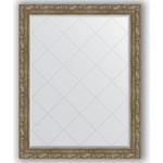 Купить Зеркало с гравировкой Evoform Exclusive-G 95x120 см, в багетной раме - виньетка античная латунь 85 мм (BY 4360)