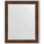 Купить Зеркало с гравировкой Evoform Exclusive-G 96x121 см, в багетной раме - римская бронза 88 мм (BY 4363)