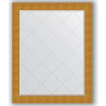 Купить Зеркало с гравировкой Evoform Exclusive-G 96x121 см, в багетной раме - чеканка золотая 90 мм (BY 4366)