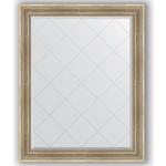 Купить Зеркало с гравировкой Evoform Exclusive-G 97x122 см, в багетной раме - серебряный акведук 93 мм (BY 4368)