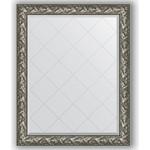 Купить Зеркало с гравировкой Evoform Exclusive-G 99x124 см, в багетной раме - византия серебро 99 мм (BY 4372)