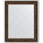 Купить Зеркало с гравировкой Evoform Exclusive-G 99x124 см, в багетной раме - византия бронза 99 мм (BY 4373)