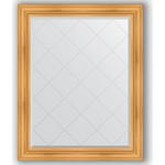 Купить Зеркало с гравировкой Evoform Exclusive-G 99x124 см, в багетной раме - травленое золото 99 мм (BY 4374)