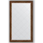 Купить Зеркало с гравировкой Evoform Exclusive-G 96x171 см, в багетной раме - римская бронза 88 мм (BY 4406)