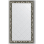 Купить Зеркало с гравировкой Evoform Exclusive-G 99x173 см, в багетной раме - византия серебро 99 мм (BY 4415)