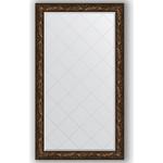 Купить Зеркало с гравировкой Evoform Exclusive-G 99x173 см, в багетной раме - византия бронза 99 мм (BY 4416)