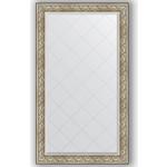 Купить Зеркало с гравировкой Evoform Exclusive-G 100x175 см, в багетной раме - барокко серебро 106 мм (BY 4424)