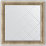 Купить Зеркало с гравировкой Evoform Exclusive-G 107x107 см, в багетной раме - серебряный акведук 93 мм (BY 4454)