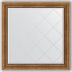 Купить Зеркало с гравировкой Evoform Exclusive-G 107x107 см, в багетной раме - бронзовый акведук 93 мм (BY 4455)