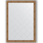 Купить Зеркало с гравировкой Evoform Exclusive-G 130x185 см, в багетной раме - виньетка античная бронза 85 мм (BY 4488)