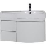 Купить Тумба под раковину Aquanet Сопрано 95 R белый (2 дверцы 2 ящика) (169633)