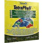 Купить Корм Tetra TetraPhyll Flakes Complete Food for Herbivorous хлопья для всех видов растительноядных рыб 12г (134430)