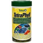 Купить Корм Tetra TetraPhyll Flakes Complete Food for Herbivorous Fish хлопья для всех видов растительноядных рыб 250мл (139923)