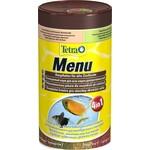 Купить Корм Tetra Menu 4 in 1 Flakes Complete Food for All Ornamental Fish хлопья вида для всех видов декоративных рыб 250мл (767393)