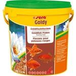 Купить Корм SERA GOLDY Goldfish Flakes Floating Food плавающие хлопья для золотых рыбок 10л (2кг)